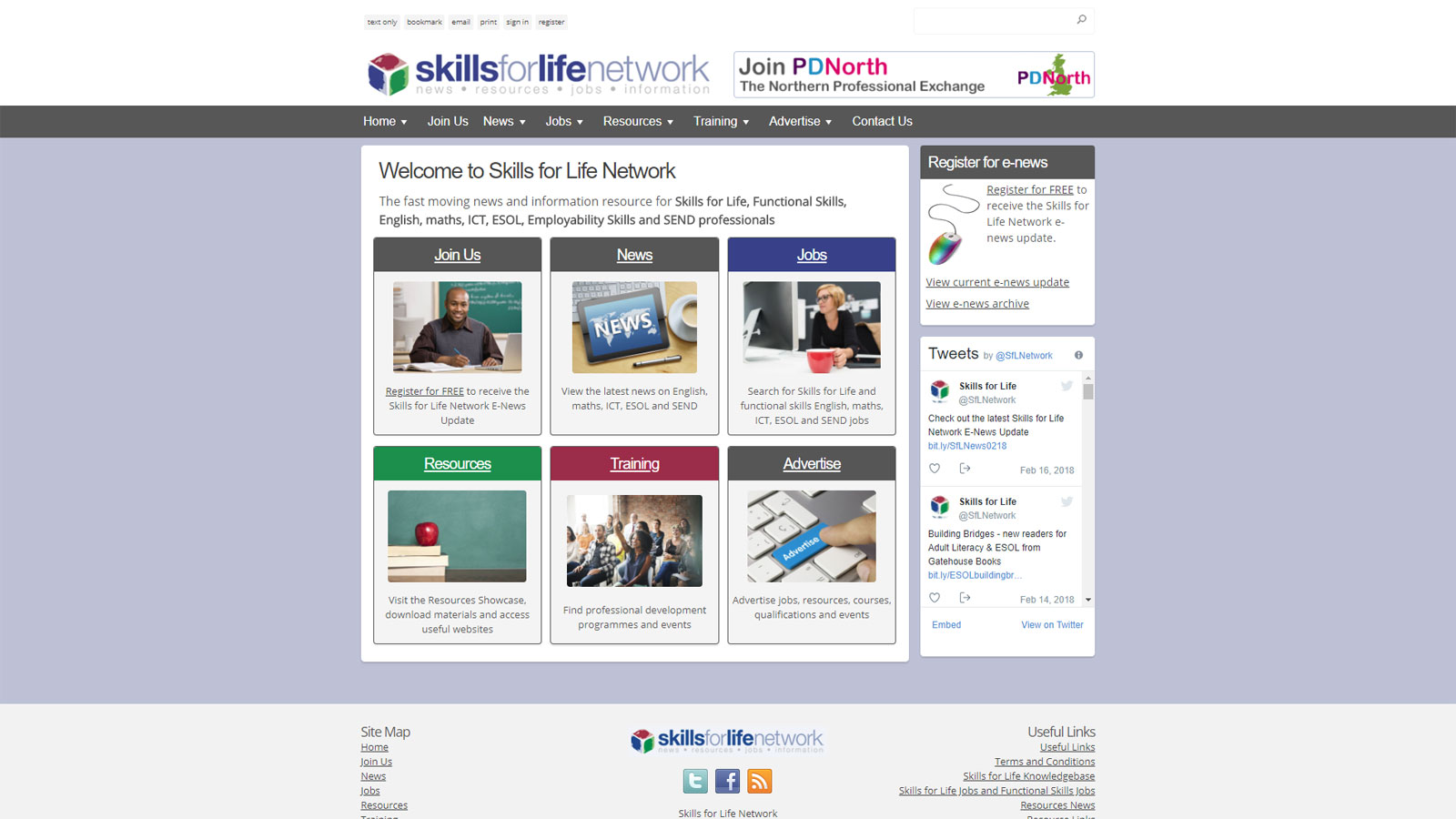 Skills for life Network